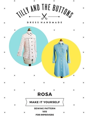 Picture of Tilly and the Buttons Sewing Patterns Rosa Shirt and Shirt Dress