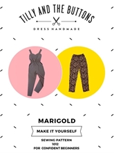 Picture of Tilly and the Buttons Sewing Patterns Marigold Jumpsuit and Trousers