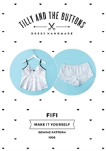 Picture of Tilly and the Buttons Sewing Patterns Fifi Pyjamas