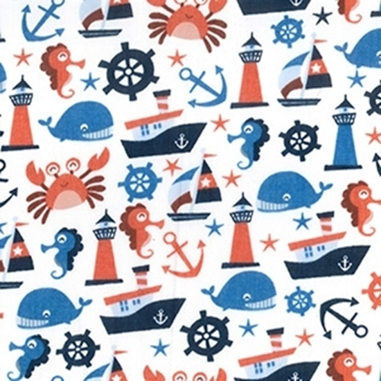Picture of Polycotton Nautical