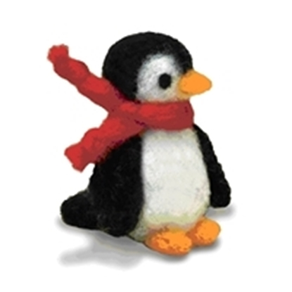 Picture of Needle Felting Kit Penguin