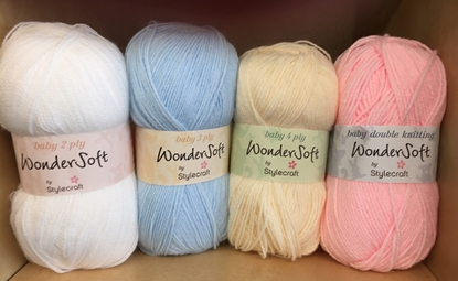 Picture of Stylecraft Wondersoft/Special for Babies 4ply