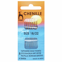 Picture of Pony Gold Eye Hand Sewing Needles: Chenille Size 18-22
