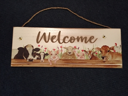 Picture of Plaque: Farm Welcome