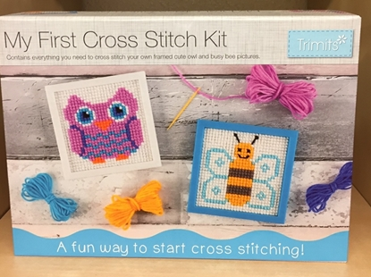 Picture of Cross Stitch Kit: My First Cross Stitch Kit
