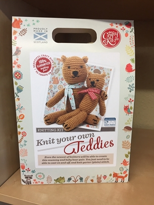 Picture of Knitting Kit: Knit Your Own Teddies