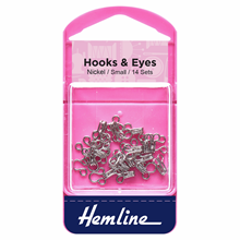Picture of Hooks & Eyes: Nickel Size 1