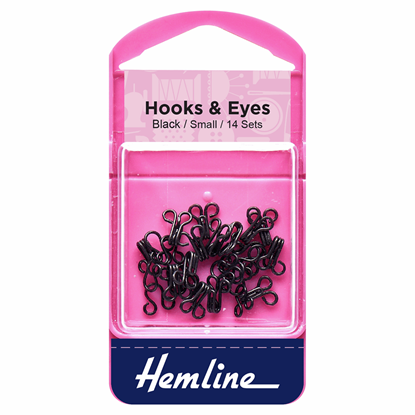 Picture of Hooks & Eyes: Black Size 1
