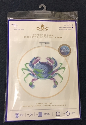 Picture of Cross Stitch Kit: Crab