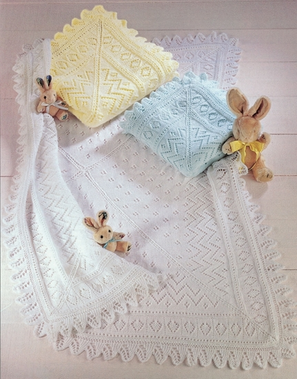 Picture of Sirdar Child 3 Ply/4 Ply Knitting Pattern: Shawls 3983