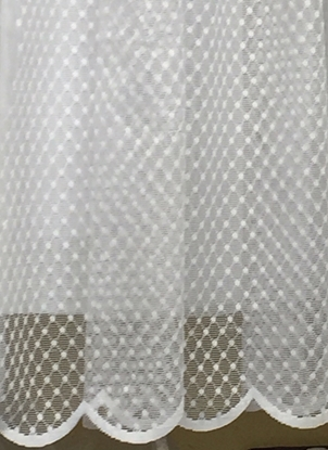 Picture of 4126 White Net Curtain