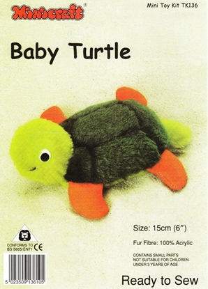 Picture of Mini Soft Toy Kit: Baby Turtle