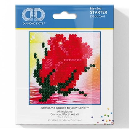 Picture of Diamond Painting Kit: Red Rose